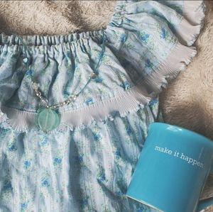 Dresses & Skirts - Pastel Floral Babydoll Dress
